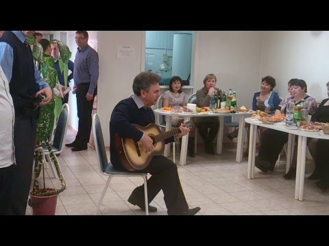 Иволга - песня под гитару на работе