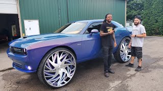 what-a-journey-my-procharged-challenger-on-34s-is-finally-finshed