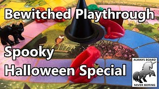 Bewitched Playthrough & Review with a Spooky Clown - Halloween Special!
