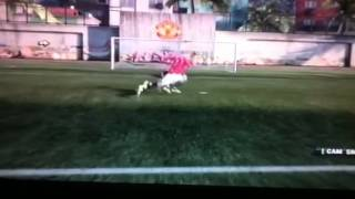 how to do a power shot fifa12