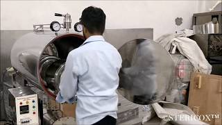 350 Liters Horizontal Autoclave in Africa