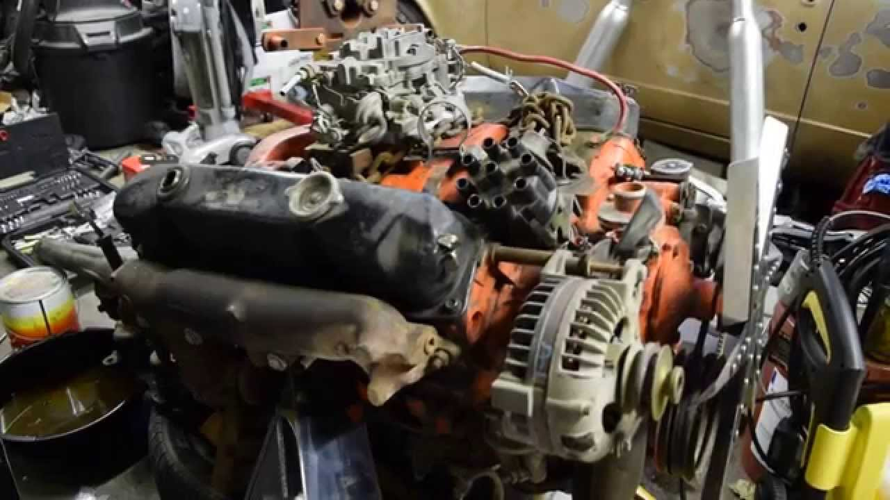dodge 413 motorhome engine