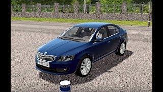 City Car Driving - Skoda Octavia III 1.8 TSI | Normal Driving + Crash