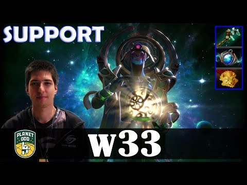 w33 - Oracle Offlane | SUPPORT | Dota 2 Pro MMR  Gameplay