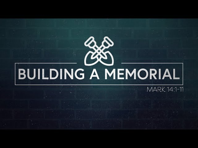 March 25, 2018: David Chotka - Building a Memorial