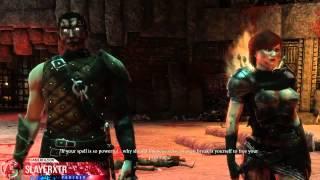 The Dark Eye Demonicon PC Walkthrough Part 2 Cannibal Boss Fight  Gameplay Let