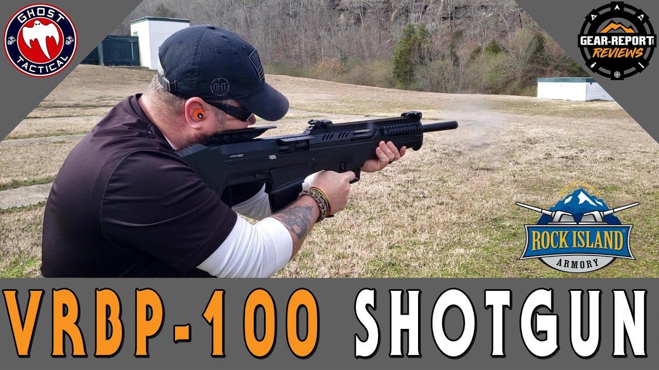 Badass BullPup Shotgun:  RIA VRBP-100