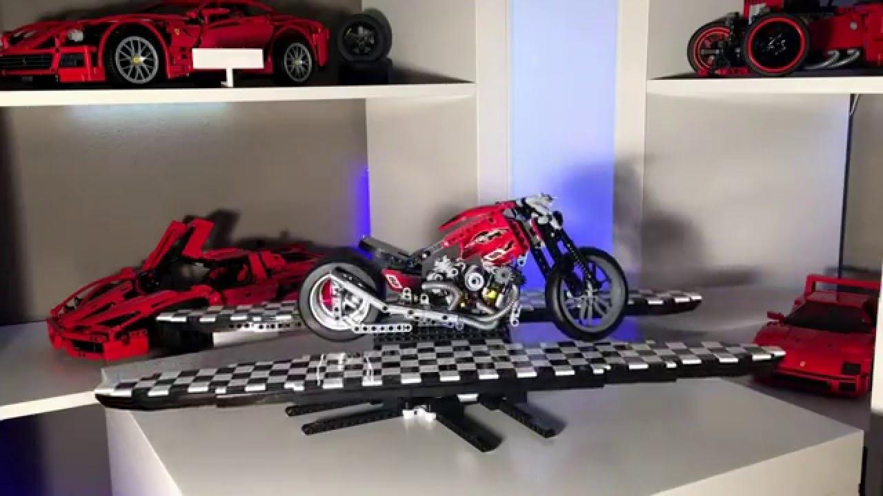 lego technic harley davidson youtube. Black Bedroom Furniture Sets. Home Design Ideas