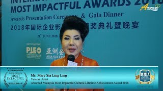 MIA2018 Winner Interview - Mary Sia 谢玲玲