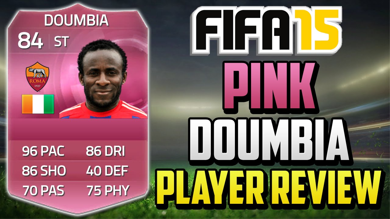 Fifa 15 Pink Doumbia Review (84) w/ In Game Stats & Gameplay - Fifa 15  Player Review - YouTube
