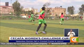 Harambee Starlets fall to Crested Cranes is opener