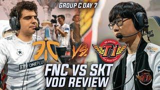 FNC vs SKT - Fnatic force SKT to group with BRUTE FORCE