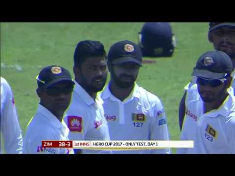 Day 01 Highlights - Sri Lanka vs Zimbabwe Only Test at RPICS, Colombo