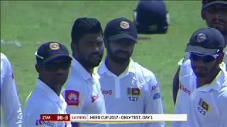 Day 01 Highlights - Sri Lanka vs Zimbabwe Only Test at RPICS, Colombo