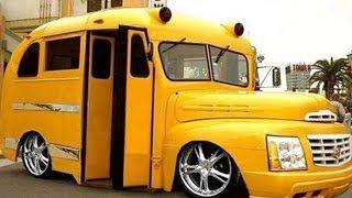 #60. Тюнинг автобусов