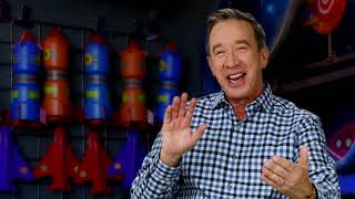 Toy Story 4 - Itw (Tim Allen) (Buzz) (official video)