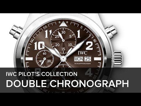 superior quality 7c884 d6911 Meet the Original: IWC Pilot's Watch Double Chronograph ...