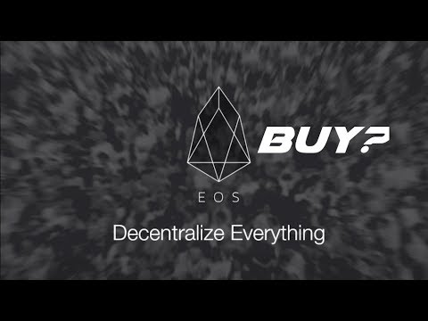Buy EOS COIN Before Moon Shot in 2018?