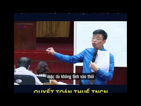 Quyết Toán Thuế TNCN Với Cá Nhân Có Thu Nhập Nhiều Nơi