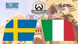 Overwatch - Sweden vs. Italy - Overwatch World Cup - Playoffs