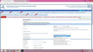 How to create irctc account (Hindi)