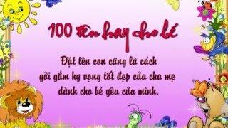 100 Tên hay cho Bé