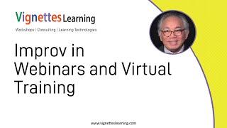 Remote Learning Idea: Improv in Webinars and Virtual Training