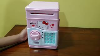 Hello Kitty ATM machine toys for kids