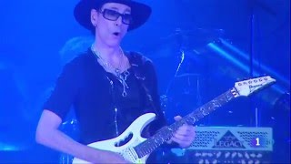 STEVE VAI - bautiza una guitarra Telecaster