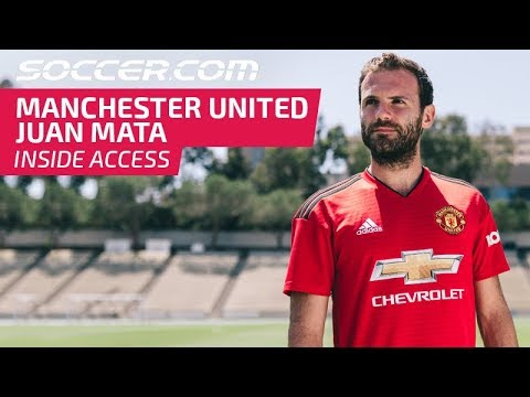 new arrival be8d6 f707b Juan Mata and Manchester United's new 2018/19 Home Jersey