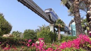 Dubai Palm Jumeirah Monorail