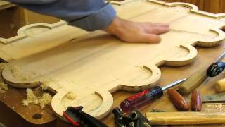 Spokeshave, Planing And Scraping The Second Table Top - Step 26