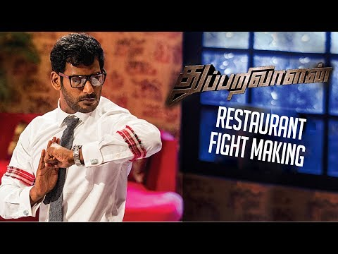 Thupparivaalan - Restaurant Fight Making |...