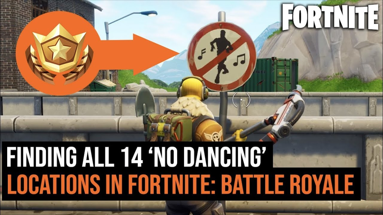 All 14 Forbidden No Dancing Locations In Fortnite Battle Royale