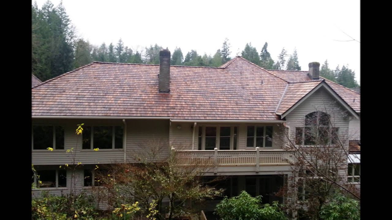 Redmond Roofing With Cedar Shakes Pro Roofing Contractor