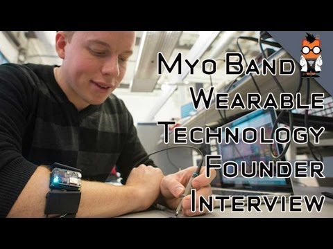 Myo Band Gesture Control with a Scientifc Twist - Founder Interview
