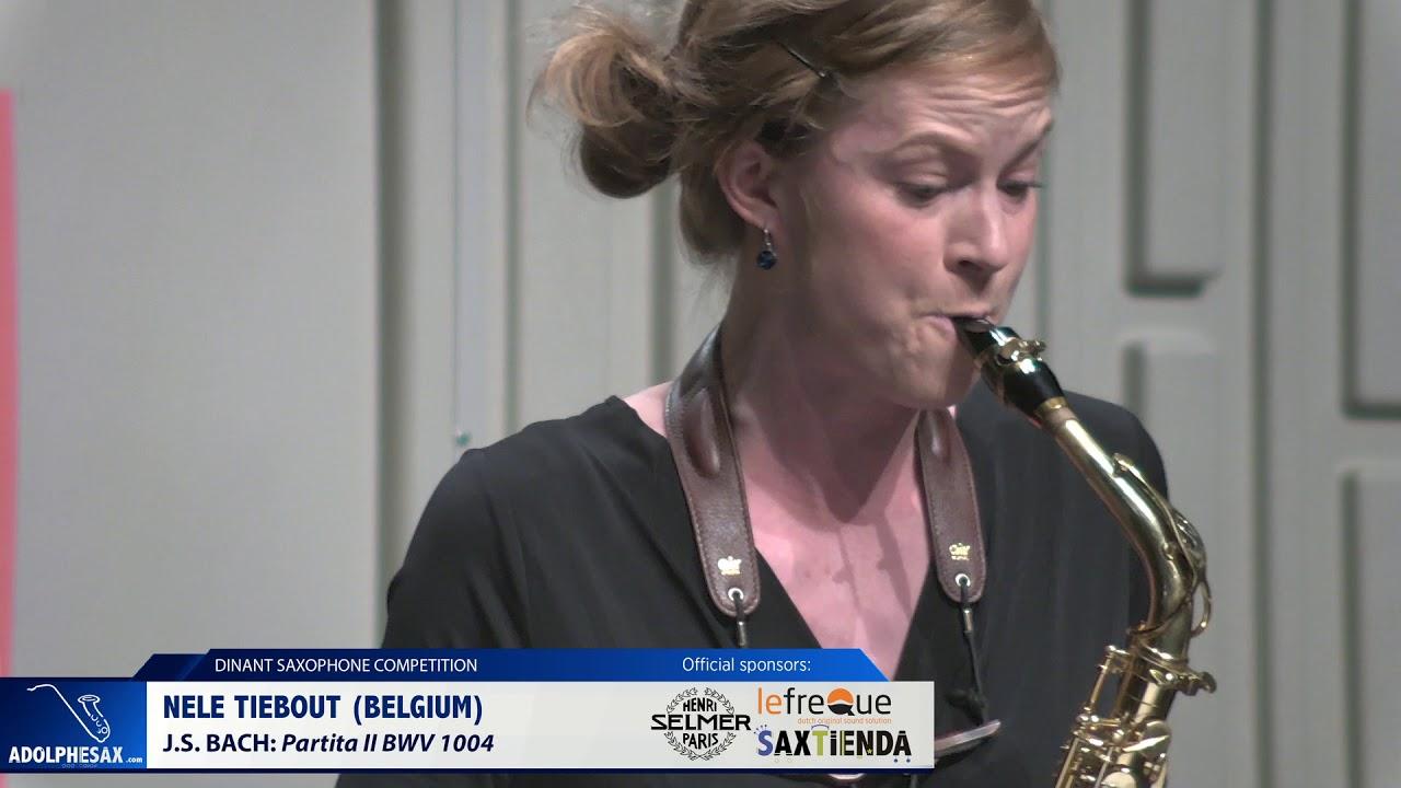 Nele Tiebout (Belgium) -  Partita II BWV1004 by J.S.Bach (Dinant 2019)
