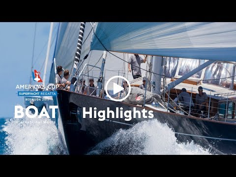 America's Cup Superyacht Regatta 2017 - Event Highlights