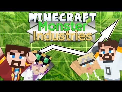 Minecraft - Monster Industries 1 - Making Paper