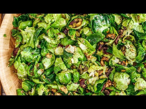 How to Make Brussels Sprouts Salad by Rachael
