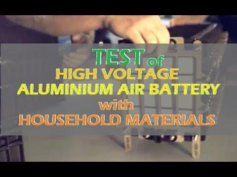 how to make aluminium air battery