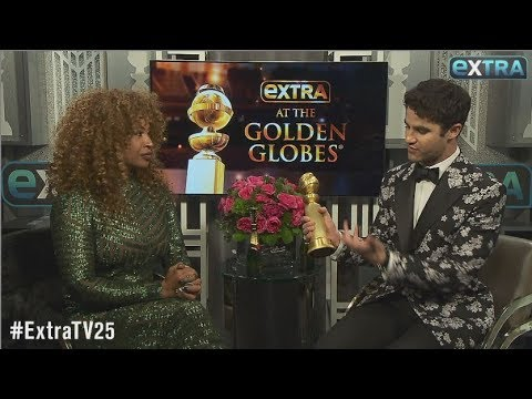 Darren Criss Didn't Want to Ugly Cry During Golden Globes Acceptance Speech Mp3