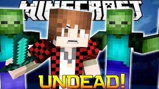 Minecraft: Undead Zombies Hunger Games! Mini-Game Challenge!
