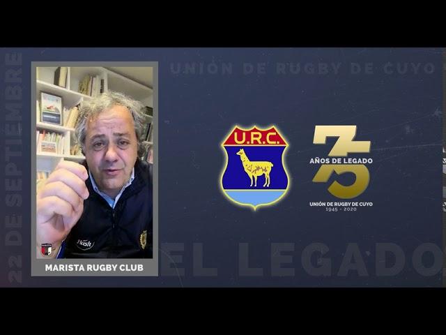 URC 75 AÑOS DE LEGADO - SALUDOS MARISTA RC