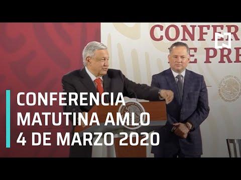 Conferencia matutina AMLO - Miércoles 4 de marzo 2020