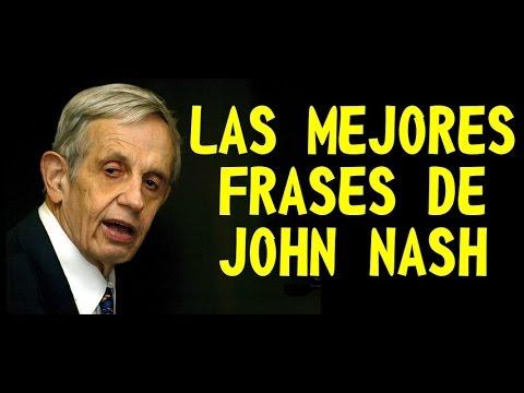 John Nash Biografía Nobel Frases Película Y Más