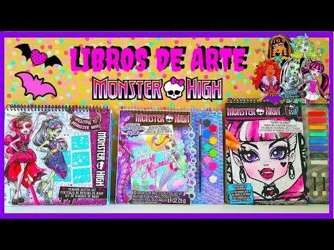DISENOS DE MODA DE MONSTER HIGH/LIBROS DE ARTE