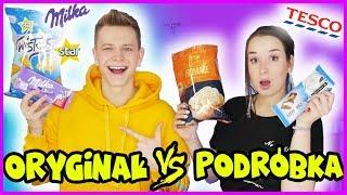 ORYGINALNE VS PODRÓBKA CHALLENGE - Słodkości #25 | Dominik Rupiński & Sylwia Lipka