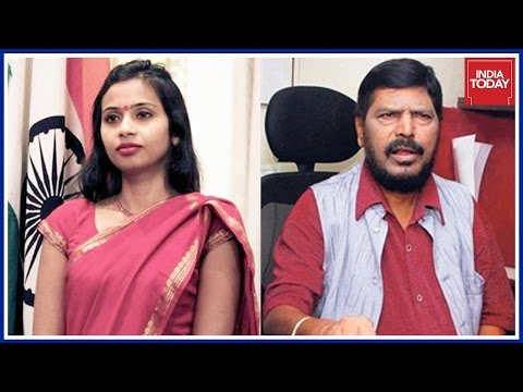 Devyani Khobragade Appointed PS To Ramdas Athwale