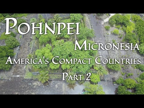 Pohnpei, Micronesia (America's Compact Countries Part 2/4) 4K
